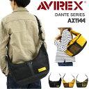 AVIREX DANTEシリーズ 2WAYショルダーバッグ AX1144 ショルダーバック 斜めがけ 斜め掛けバッグ 手提げバッグ トートバッグ アヴィレックス ダンテ メンズ レディース 男女兼用 ミリタリー ブランド ストリート かっこいい アビレックス 軽量 ポーチ 旅行 トラベル B5