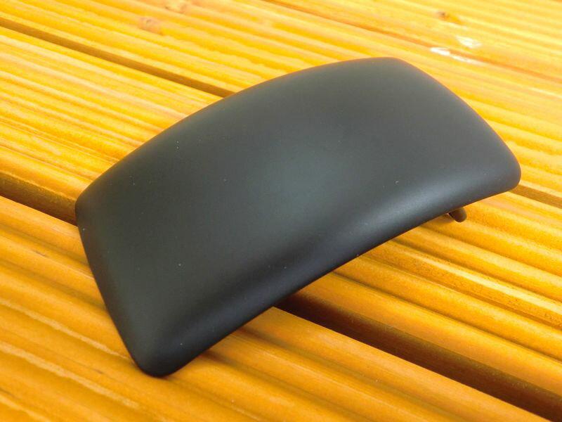 真鍮製 ベルト幅40mm用 黒色ダール加工 プレーンバックル  (ブラック ブラス) 馬具職人工房