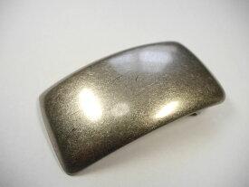 真鍮製 ベルト幅40mm用 プレーンバックル (シルバー ブラス)馬具職人工房