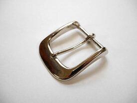 真鍮製 ベルト幅40mm 重厚なバックル (シルバー) 馬具職人工房