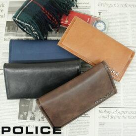 7819d77cf495 折りたたみ長財布 メンズ レザー POLICE ポリス EDGE 長財布[pa-58001]本