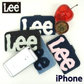 lee iphoneケース 携帯ケース 手帳型 Lee リー 手帳型スマホケース サガラ刺繍[0520396]iPhone6 iPhone7 iPhone8 iPhone6s アイフォンケース ケイタイケース かわいい おしゃれ 手帳型ケース スマホケース スマートフォンケース アイフォン6 アイフォン7 アイフォン8