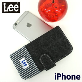 lee iphoneケース 携帯ケース 手帳型 Lee リー 手帳型スマホケース 2トーンver[0520397]iPhone6 iPhone7 iPhone8 iPhone6s アイフォンケース かわいい おしゃれ 手帳型ケース スマホケース スマートフォンケース アイフォン6 アイフォン7 アイフォン8 ヒッコリー柄