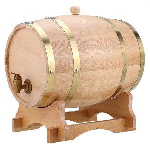 送料無料 10L オーク樽 ワイン樽 ワインバレル ワインバケツ ウィスキー 発酵酒 ビール樽 樽バケツ スタンド付き 醸造 木製 ストレージ 酒収納用品 ホテル レストラン 装飾 家庭用