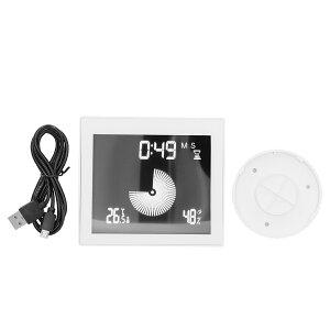 送料無料 1台多役 デジタル温湿度計 デジタル時計 壁掛け 卓上 吸盤式 高精度 温湿度計 ベビー用品 デジタル 温度計 湿度計 タイマー 目覚まし時計 時計機能 多機能 熱中症 風邪予防 カビ