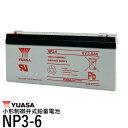 台湾 YUASA ユアサ NP3-6 小形制御弁式鉛蓄電池 新品 シールドバッテリー UPS 互換 WB634 UB634 D5732 PS630