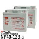 台湾 YUASA ユアサ NP40-12B 【 NP38-12 互換 】 バッテリー SER38-12 SC38-12 HC38-12 NPC38-12 PE12V40 12M38 WP45-…