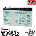 台湾 YUASA ユアサ REW45-12 シールドバッテリー UPS交換用【互換 12SN7.5 NP7-12 NPH7-12 PE12V7.2 PXL120...