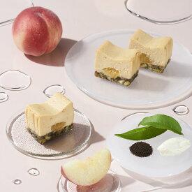 THE CHEESE TERRINE by BAKE CHEESE TART 桃とアールグレイのチーズテリーヌ