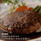 金谷ホテルオリジナルハンバーグステーキセット(6袋入)