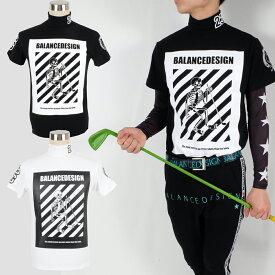スーパーストレッチハイネックスカルシャツM〜6L伸縮/【夏新作】【メンズ】【ゴルフウェア】大きいサイズgolf/限定/お洒落/
