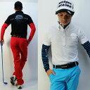 UV90%ダークスカルポロシャツ/S〜5Lドクロポロシャツ【夏新作】【メンズ】【ゴルフウェア】大きいサイズ/golf/限定/お洒落/