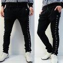 新作/ブラックスターニットパンツ//伸びる素材【夏新作】【メンズ】【ゴルフウェア】ズボン パンツ 男性 BALANCEDE…