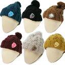 真冬2 スカルニットボンボン帽子キャップ【数量限定】【ゴルフ】大きいサイズ/帽子/キャップ/CAP/GOLF