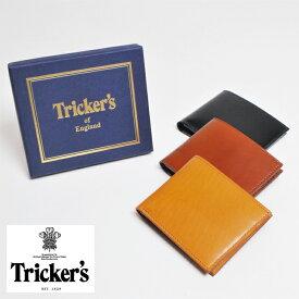 【SALE】【送料無料】Tricker's/トリッカーズ 二つ折り財布【レザー 財布 メンズ 革財布 国内正規品】