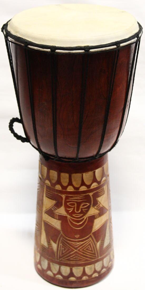 ◆ジャンベ Lサイズ H50cm◆(民族楽器・太鼓)
