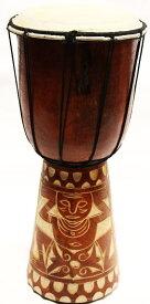 ◆ジャンベMサイズ H40cm◆(民族楽器・太鼓)