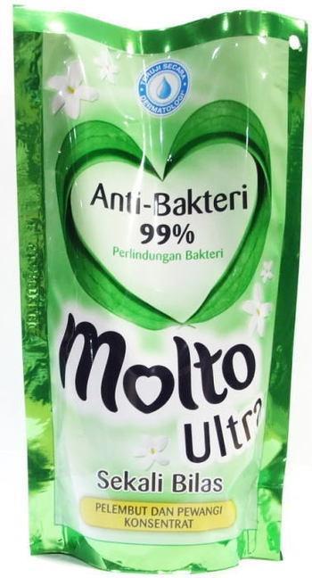 ◆インドネシア・バリ島の柔軟剤◆molto ultora anti bakteri(モルトウルトラアンチバクテリ)900ml詰替え用抗菌タイプ