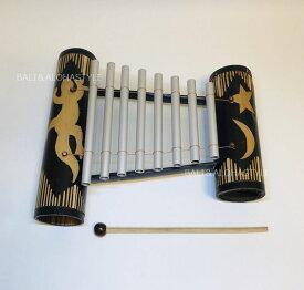 ◆バリの鉄琴◆(楽器・音色・バンブー・ヤモリ・バリ・インテリア)
