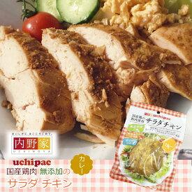 サラダ チキン カレー 無添加 安心安全 お惣菜の内野家 国産鶏肉 食品添加物 保存料不使用 常温