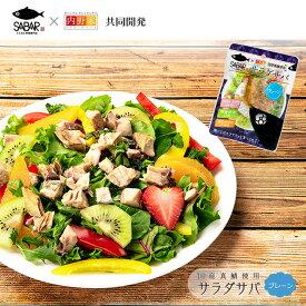 レトルト サラダサバ プレーン 1切れx6袋 無添加 uchipac 常温ロングライフ 食品添加物 保存料不使用