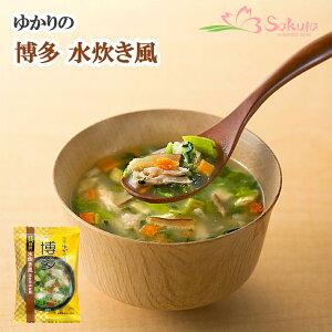 フリーズドライ tabete ゆかりの 博多 水炊き風(国産鶏肉使用) 15.8g×5袋