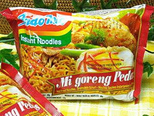ハラル認証 インドミー・激辛ミーゴレン(インドネシアの辛口焼きそば・インスタント食品)10袋お試しセット