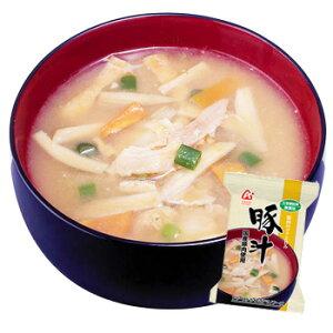 アマノフーズ 「無添加」豚汁(とん汁)(国産豚肉使用) 20袋セット【アマノフーズのフリーズドライ味噌汁】