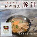 レトルト 総菜 豚汁250g 醤油味 具だくさん 長期1年保存