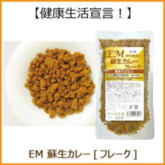 EM resuscitation Curry flakes (120 g)