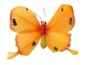 クプクプ(チョウチョ)マグネット8cm オレンジ【バリ・アジアン雑貨バリパラダイス】