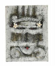 抽象画30×40バリニーズ【バリ・アジアン雑貨バリパラダイス】