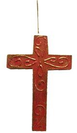十字架のオーナメント【バリ・アジアン雑貨バリパラダイス】