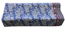 バティック生地(測り売り)コットンプリント 青系雲柄 115cm幅【バリ・アジアン雑貨バリパラダイス】