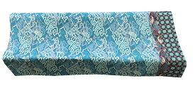 バティック生地(測り売り生地)コットンプリント水色系雲柄 115cm幅【バリ・アジアン雑貨バリパラダイス】