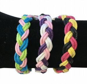 三つ編みミサンガ(プロミスリング)3色【バリ・アジアン雑貨バリパラダイス】
