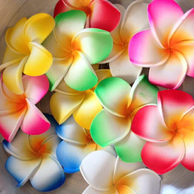 造花プルメリア12個セット[定形外送料無料,フットバス,造花,フラワー,観葉植物,イミテーションフラワー]