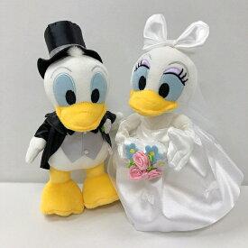 ■ぬいぐるみ電報■(電報)結婚式 入籍祝い ディズニー♪ ドナルド&デイジーのウェディング♪ ぬいぐるみ 祝電 ウェルカムドールにも♪