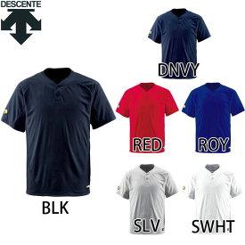 【デサント】 2ボタン Tシャツ 半袖 DB201 【ゆうパケット/メール便可】