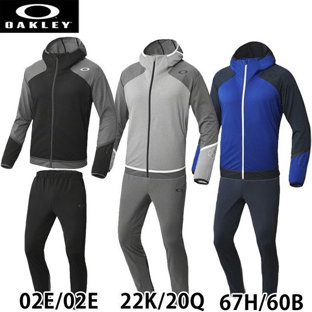 【オークリー】 Enhance 3rd-G Knit Jacket 1.0 ニットジャケット&パンツ 上下セット トレーニングウェア 412361JP-422251JP