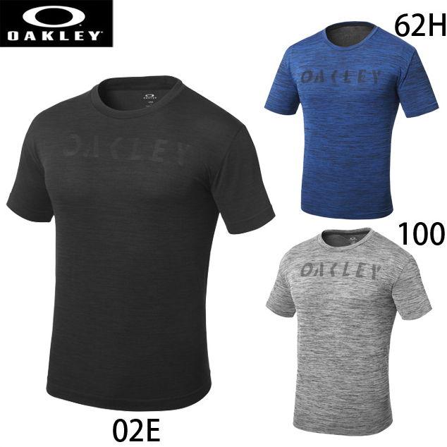 【オークリー】 トレーニングウェア Tシャツ 半袖 3RD-G ZERO SS O-FIT OKL TEE 1.0 【OAKLEY2018SS】 457164JP 【ゆうパケット/メール便可】
