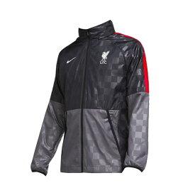 【ナイキ】 サッカー レプリカウェア リバプールFC NK AWF LTE ジャケット CL グレー 防風 防水 【NIKE2020FW】 CZ3346-012