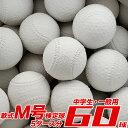 期間限定価格!数量限定! 【ダイワマルエス】 試合球 軟式野球ボール M号 中学生 一般向け 5ダース分 公認球 検定球 …