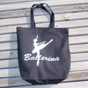 バレエ レッスンバッグ,バレリーナ黒,バレエ バッグ,バレエ用品