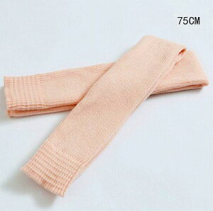 レッグウォーマー 75cm ピンク色,トレンカタイプ,かかと無し,バレエ,ダンスレッグカバー,バレエ用品