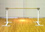 バレエレッスンバークリスタルバープロユース1連ユニットバー3mCBP-L100,スタジオ,教室,バレエ用品