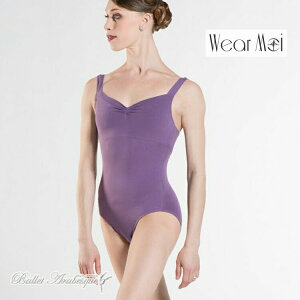【Wear Moi ウェアモア】MABEL マベル 【大人バレエタンクレオタード】コットン素材