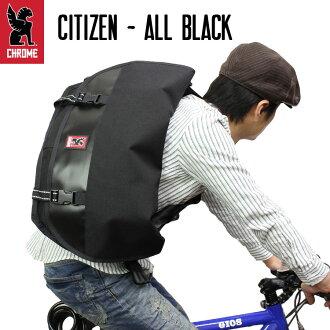 CHROME 크롬 CITIZEN 메신저 가방 숄더백 ALL BLACK