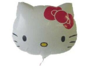 キティフェイス 50cm ヘリウム入風船 バルーン 誕生日 パーティー 結婚式 プレゼント 開店祝い バレンタイン 飾りかわいい おしゃれ ふうせん キャラクター バースデー
