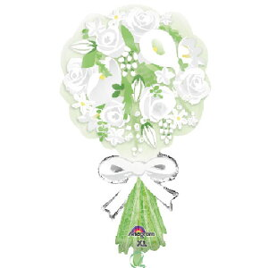 ブーケフォーザブライド ヘリウムなし風船 バルーン 誕生日 パーティー 結婚式 プレゼント 開店祝い 飾りかわいい おしゃれ ふうせん キャラクター バースデー プレゼント ヘリウムガス ギ